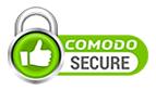 SSL encryption provided by Comodo