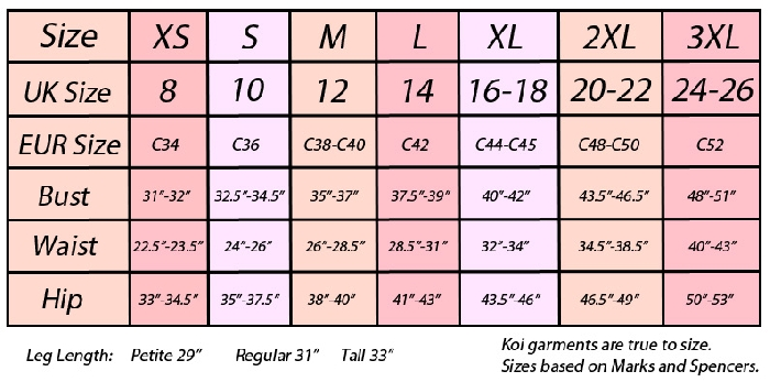 Image of Size guide