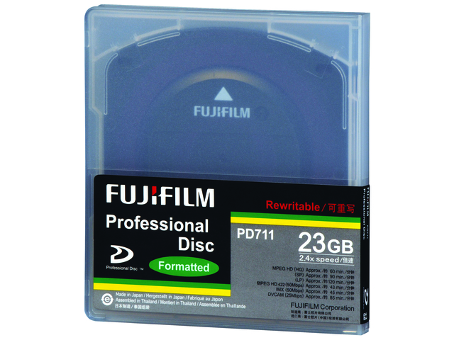 An image of FUJI XDCAM PD711 23GB