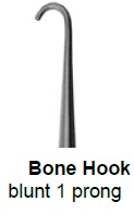 An image of Bone Hook - Blunt