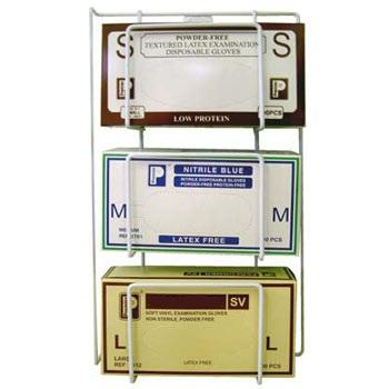 An image of Glove Dispenser Rack Triple