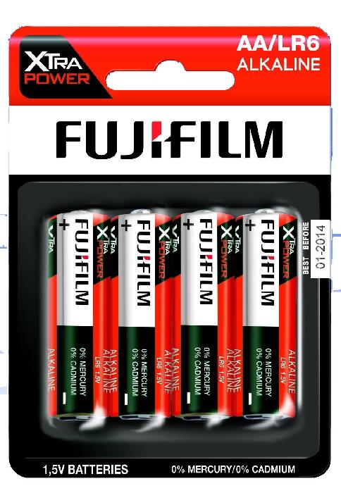 An image of Fujifilm Xtra Power Battery AA x 4 Hang Pack