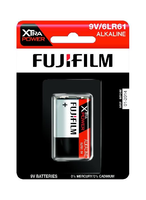 An image of Fujifilm Xtra Power Battery 9V x 1 Hang Pack