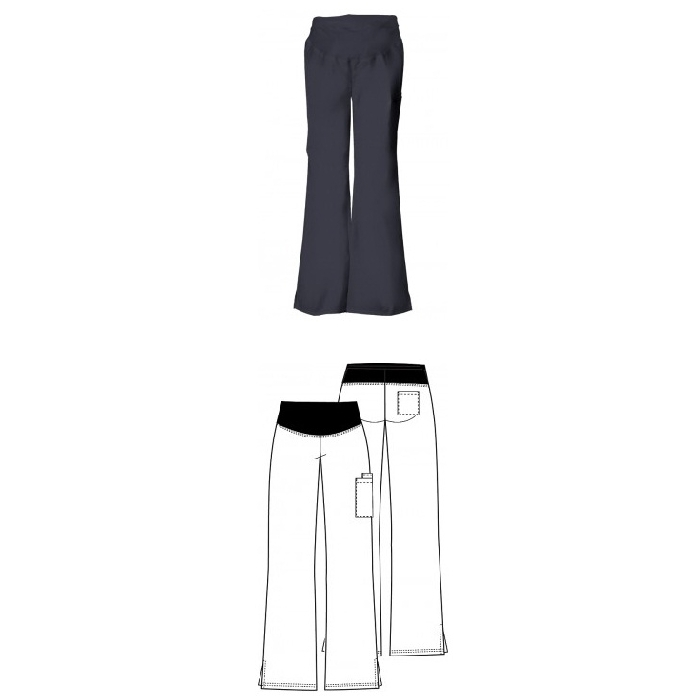 An image of Maternity Knit Waist Pull-On Pant XS