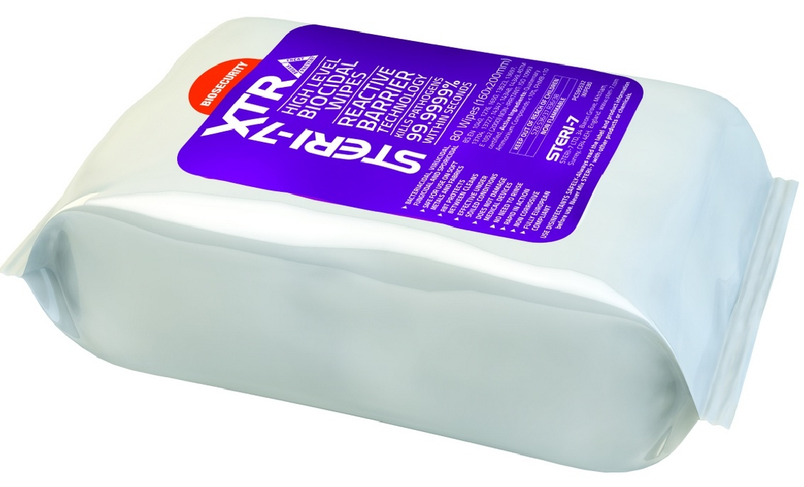 An image of Steri-7 Wipes Pillow Pack