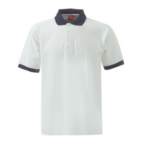 XSS2 Unisex Poloshirt W/N Block ISCP logo ( XS)