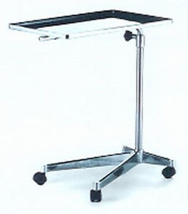 An image of Mayo Table (Manual) 680 x 450 x 900-1250 With Castors