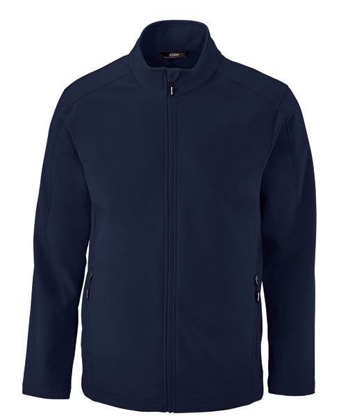 RS209M Unisex soft shell jacket ISCP Crest