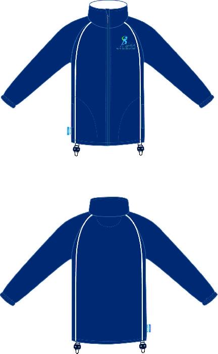 G-Force Unisex Fleece Navy ISCP Logo