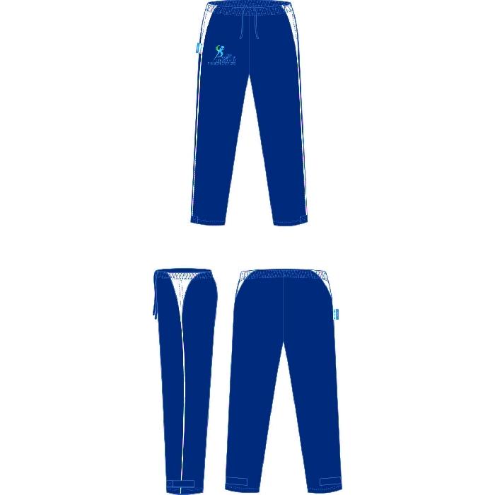 G-Force Unisex Track Pants Navy ISCP Logo