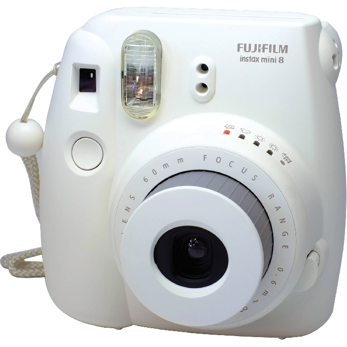 An image of INSTAX MINI 8 WHITE PLUS 10 SHOTS