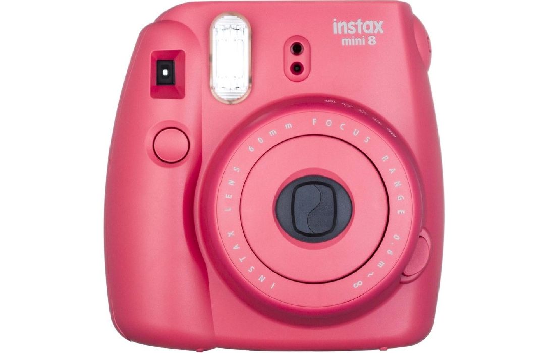 An image of INSTAX MINI 8 RASPBERRY PLUS 10 SHOTS