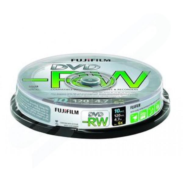 FUJI DVD-RW 6X CAKE 10