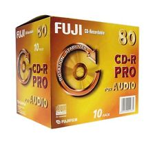 An image of FUJI CD-R 700MB PRO AUD 80MIN X 10