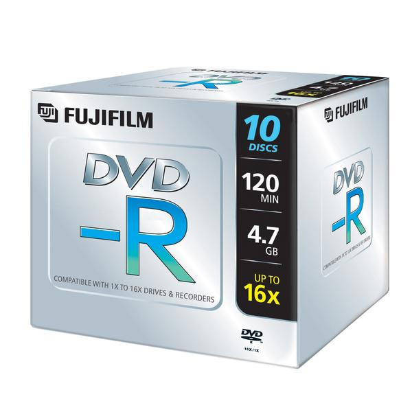 An image of FUJI DVD+R 4.7GB 16X (10 PACK)