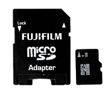 An image of FUJI 32GB UNIVERSAL MICRO SD & ADAPTER