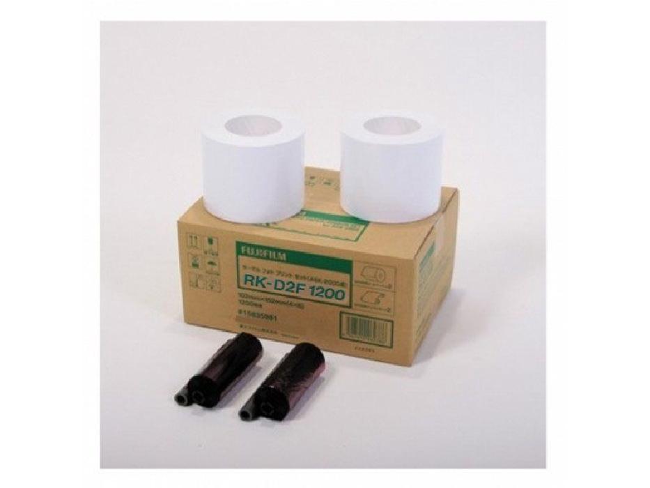 An image of FUJI (2000) RK-D2T1200B (4X6)  2 Rolls Dye Sub Paper