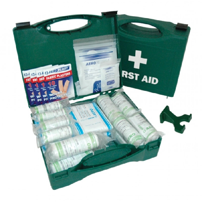 An image of HSE First Aid Kit ( 10 person Kit in Standard Box )