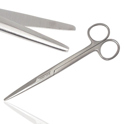 An image of Instramed Straight Mayo Stille Scissors 17cm - Sterile