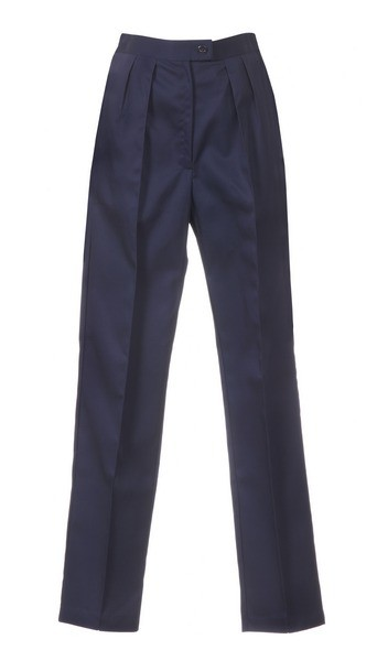 An image of LADIES TROUSER NAVY