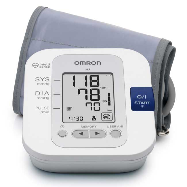 An image of M6 Blood Pressure Monitor Pack consisting of M6 Small Medium & Large Cuffs