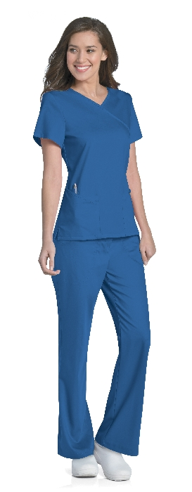 An image of Sophie Crossover Top Royal Blue XS
