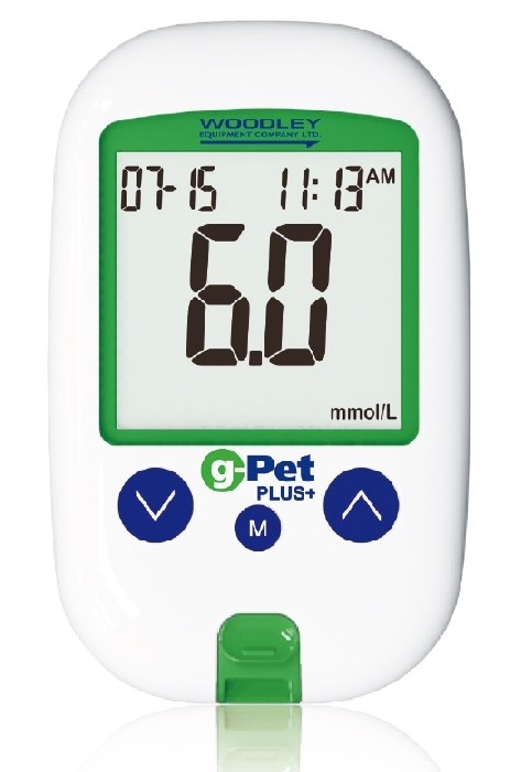 An image of g-Pet Plus Glucose Monitoring System (with 10T & control solution)