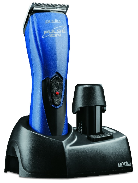 An image of Andis RBC Clipper Blue Pulse Ion Cordless Free adjustable #40 blade