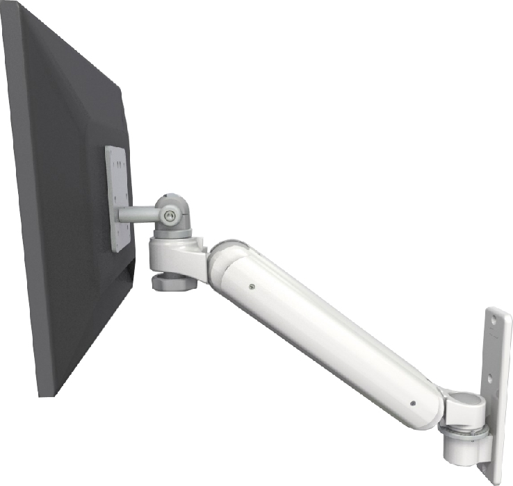 An image of Ultra 180 EV6 Monitor Wall Mount Compact Medical White