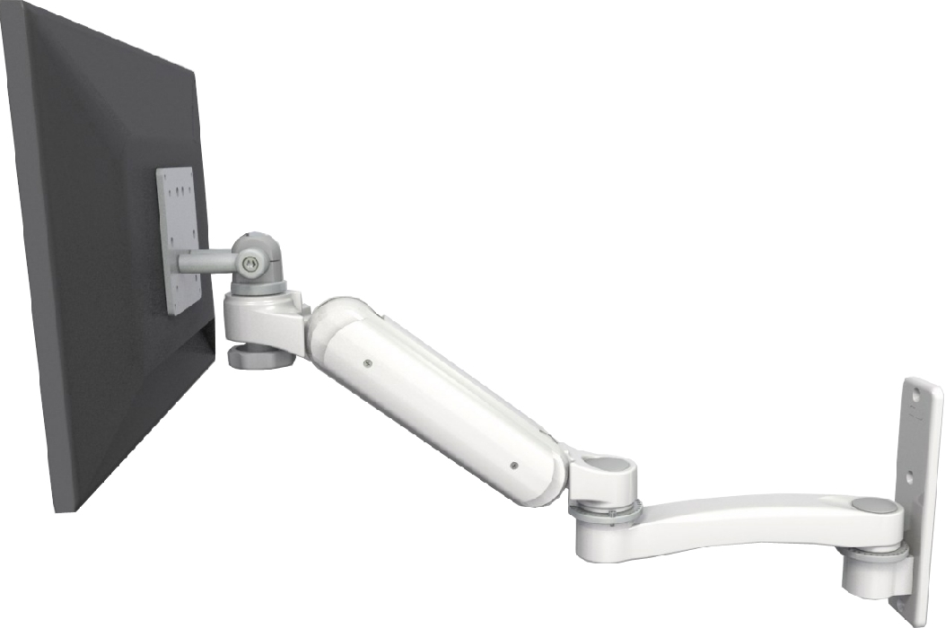 An image of Ultra 180 EV6 Monitor Wall Mount Extended Medical White