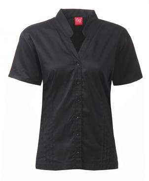 An image of BLOUSE BLACK SIZE 10