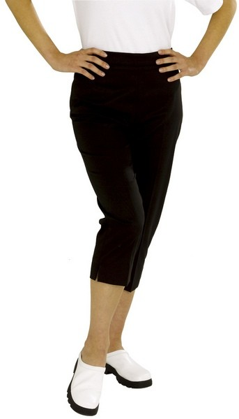 An image of CROPPED TROUSER NAVY SIZE 36 REGULAR