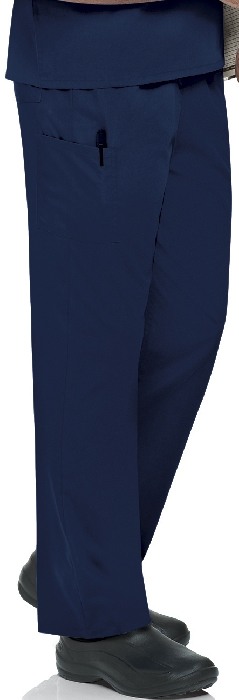 An image of Unisex Scrub Pant Navy XS