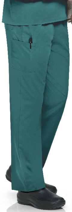 An image of Unisex Scrub Pant Teal XS