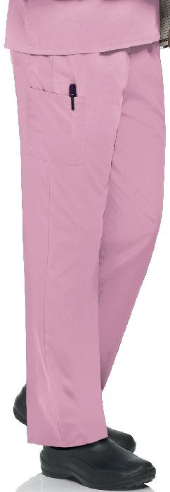An image of Unisex Scrub Pant Pink XS