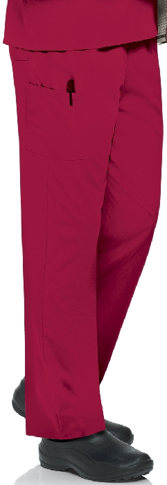 An image of Unisex Scrub Pant Red XS