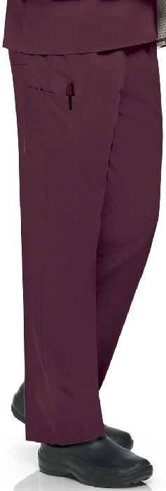 An image of Unisex Scrub Pant Wine XS