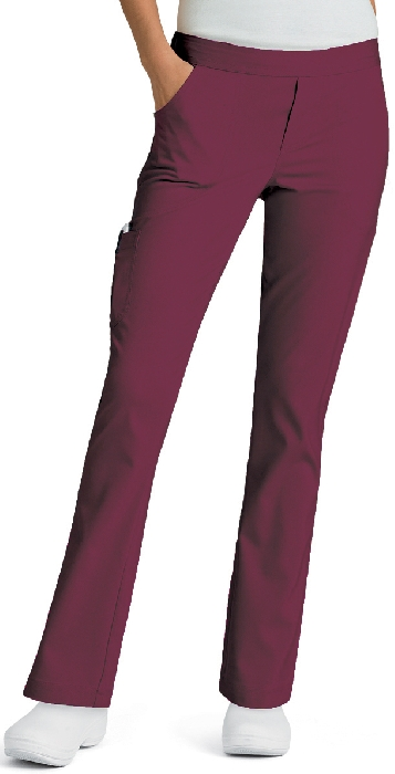 An image of Bailey Tapered Pant Wine XS