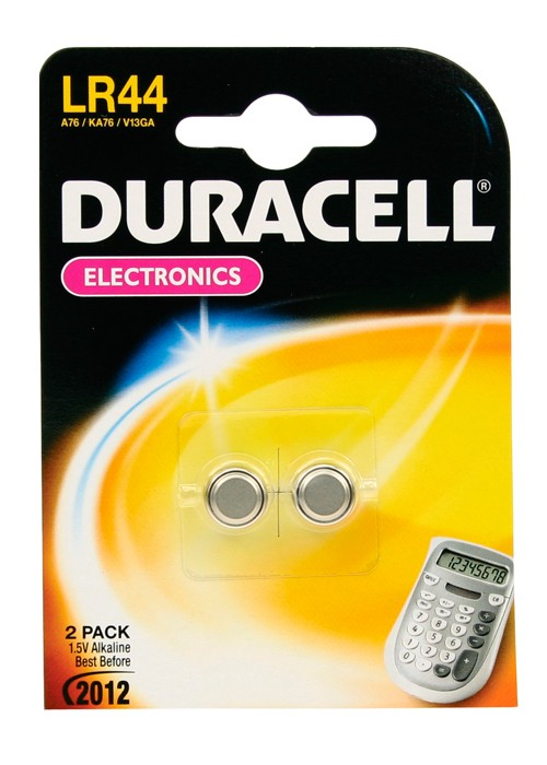 An image of Duracell DLR44 2 pcs blister