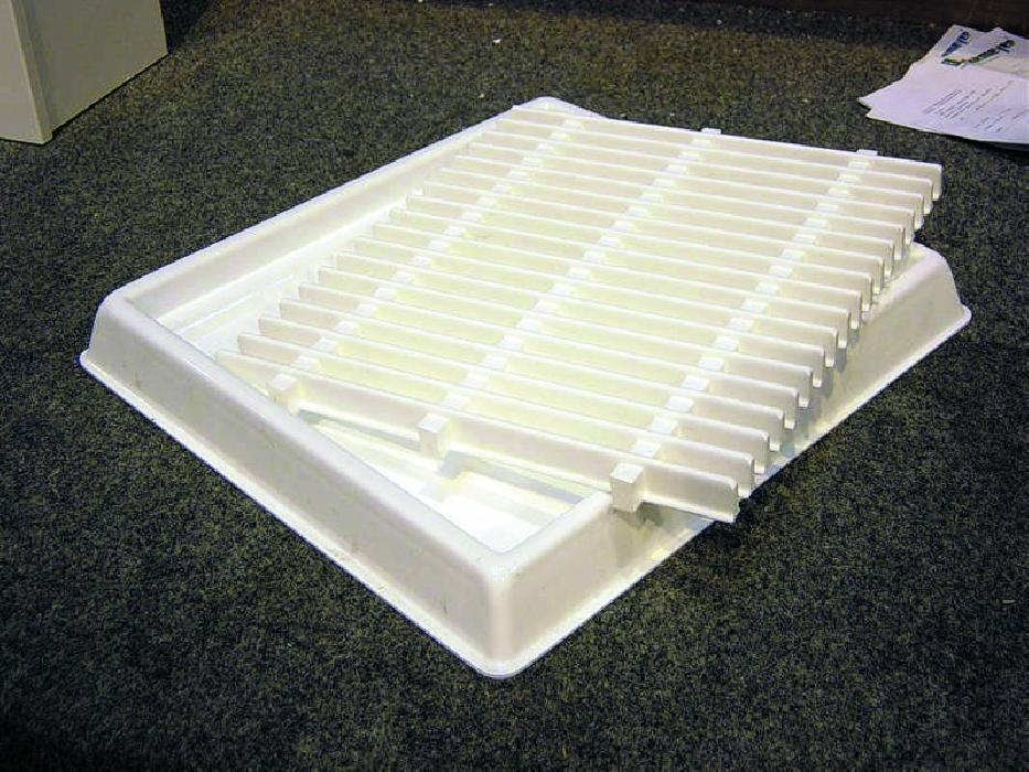 An image of Dental Tray with Removable Grate