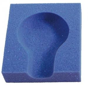 An image of Foam: Child Skull Block 18x15x5cm