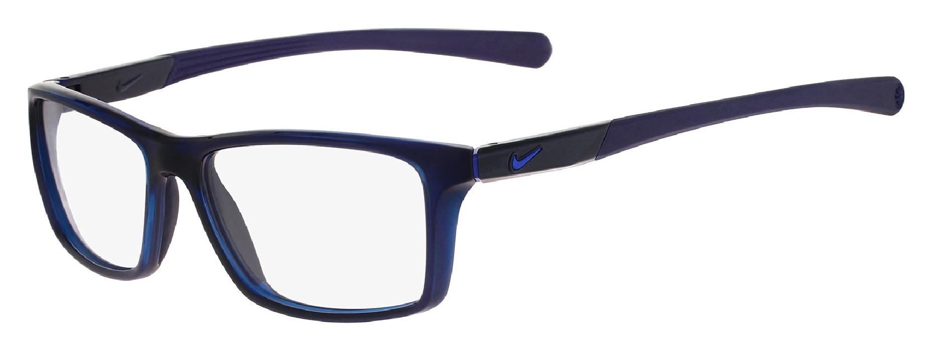 An image of Nike 7087 Matte Black - Volt