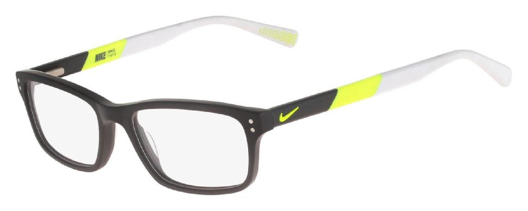 An image of Nike 7237 Matte Dark Grey-Volt