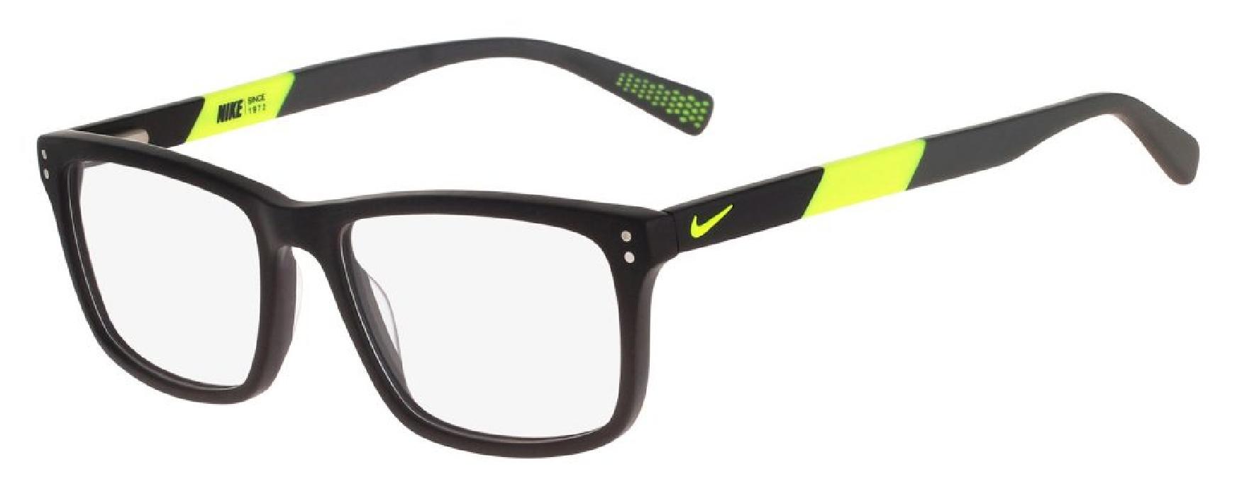An image of Nike 7238 Matte Black-Volt