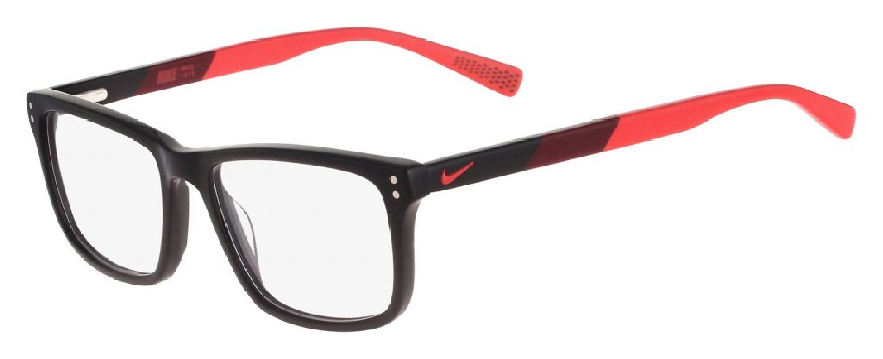 An image of Nike 7238 Black-Team Red