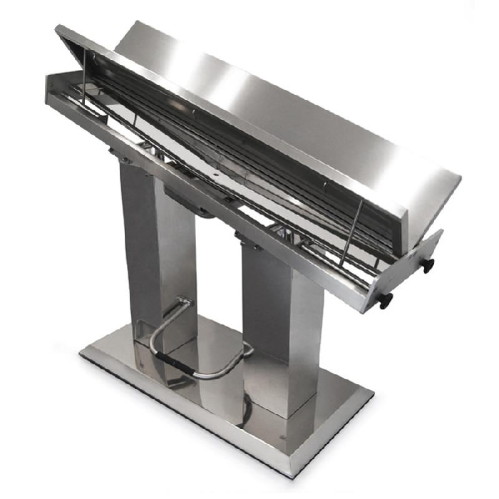 An image of Purfect S/S Table Hydraulic x 2V Top 140x 55cm