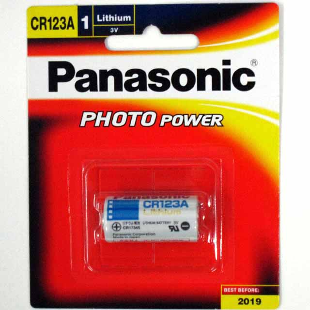 An image of Panasonic CR123A (1)