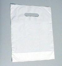 An image of Carrier Bag Plain White (100)