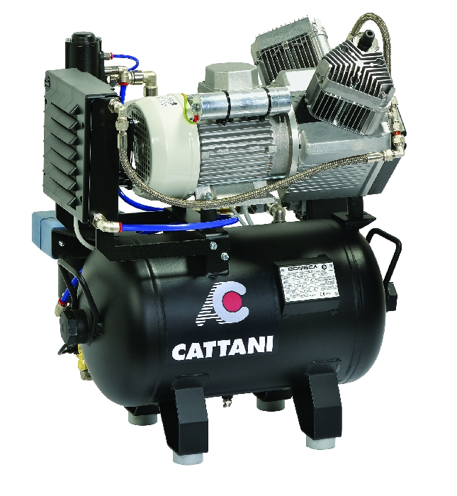 An image of Cattani AC200 2-4 surgery compressor