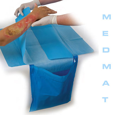An image of MedMat 1100 Dressing System Size 850x690mm Sterile 1 Piece/Pack